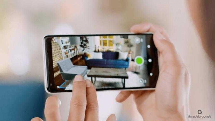 pixel 2 camera geste
