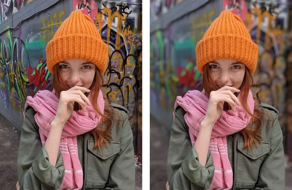 pixel 2 portrait modus