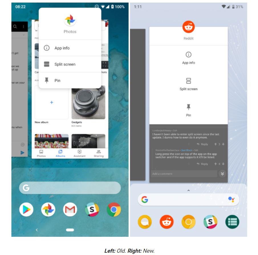 pixel 3 app swich