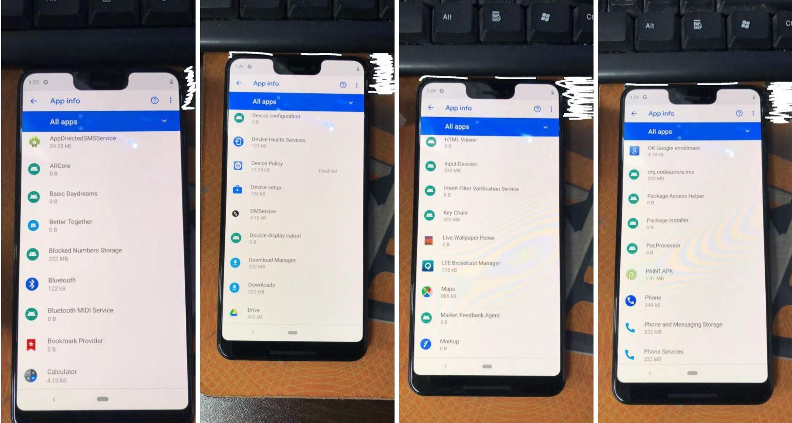 pixel 3 apps