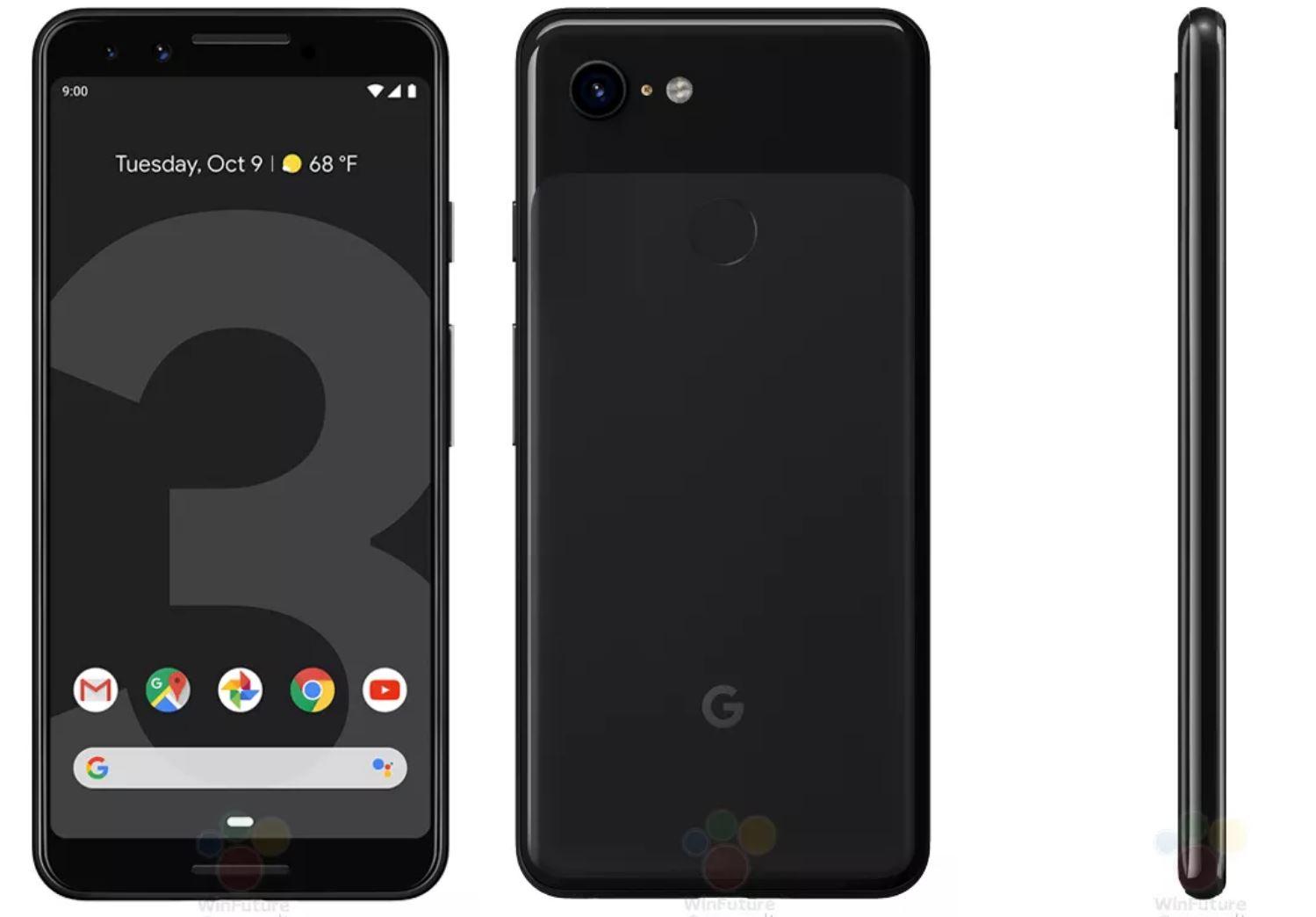 pixel 3 black