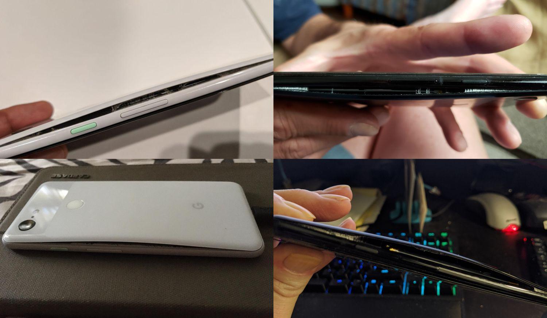 pixel 3 blown akku cover
