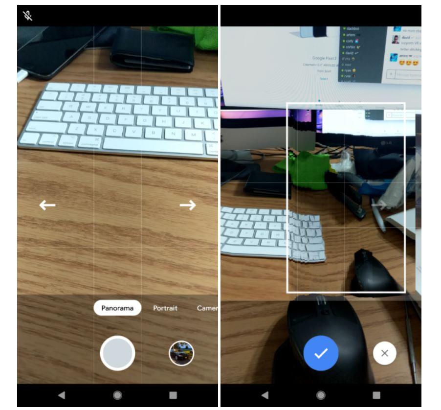 pixel 3 camera panorama