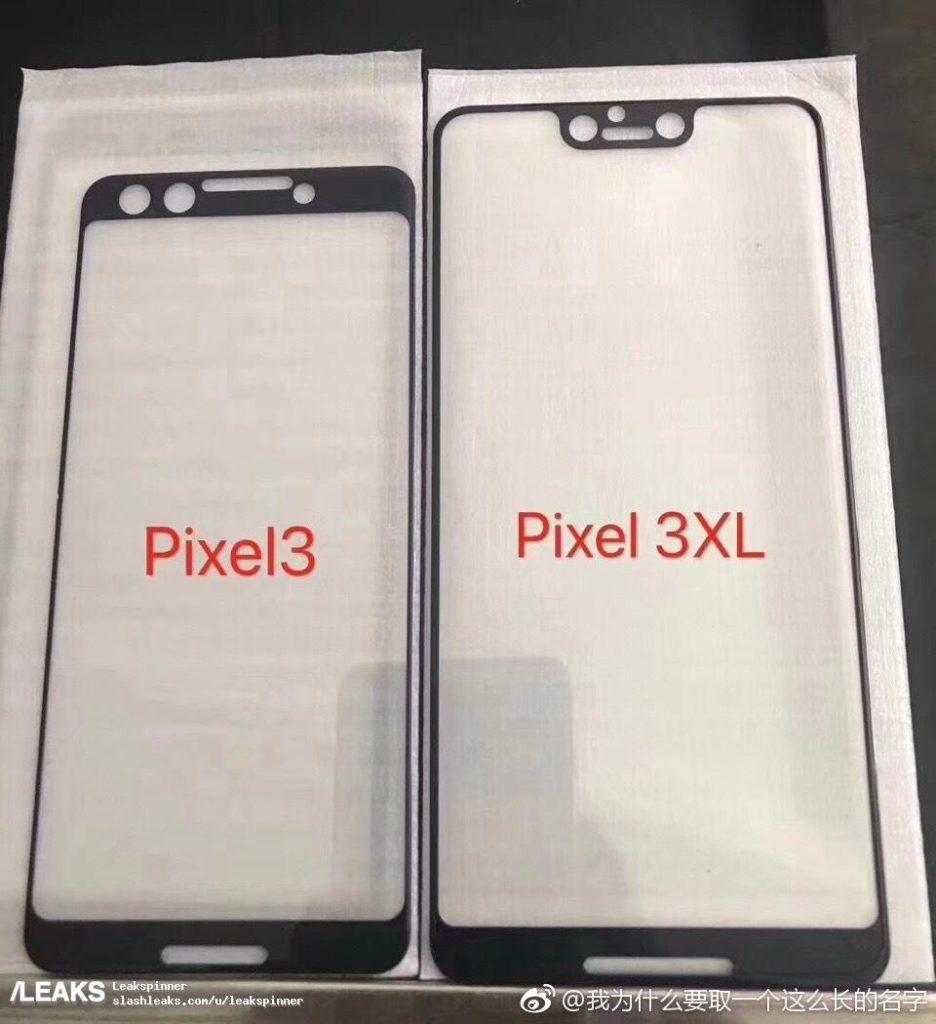 pixel 3 display notch