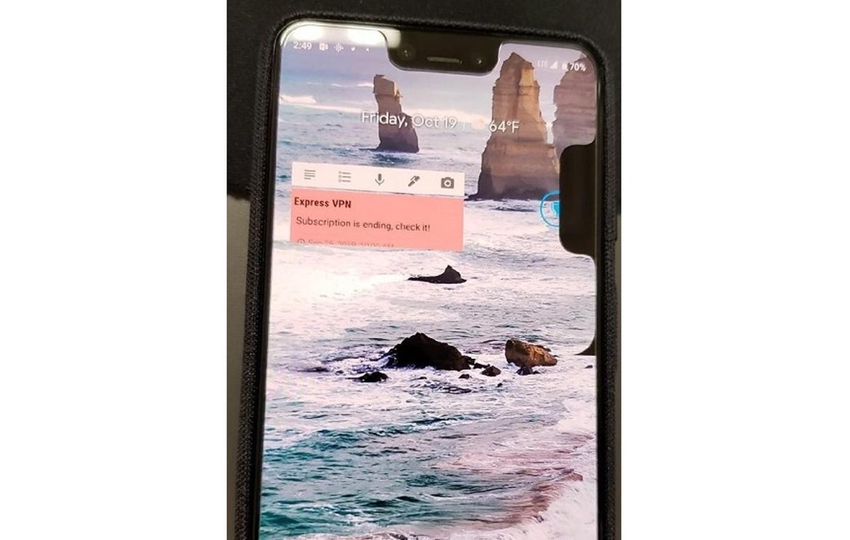 pixel 3 doppel notch