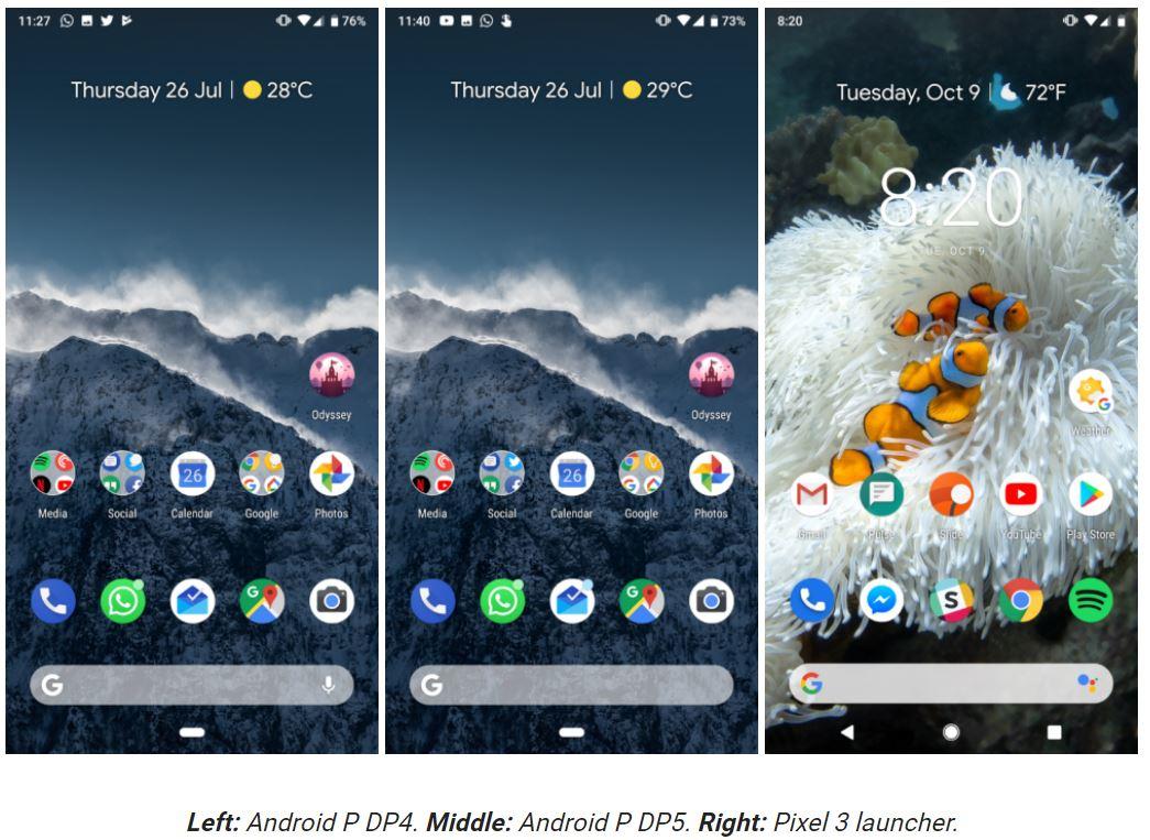 pixel 3 launcher