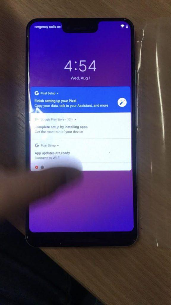 pixel 3 leak 3