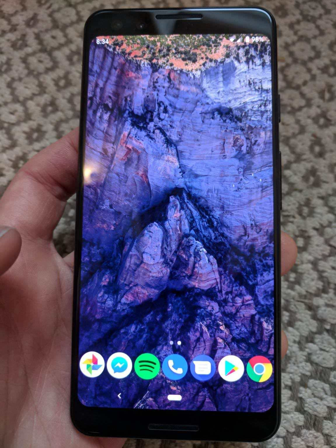 pixel 3 leak front