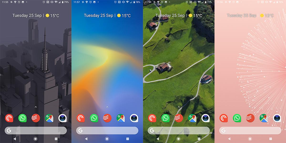 pixel 3 live wallpaper set