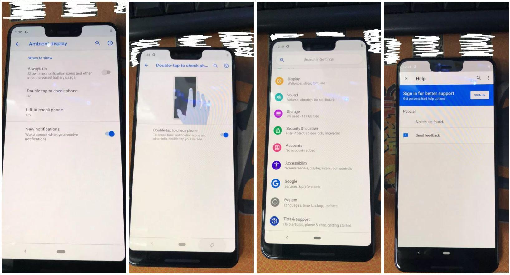 pixel 3 settings