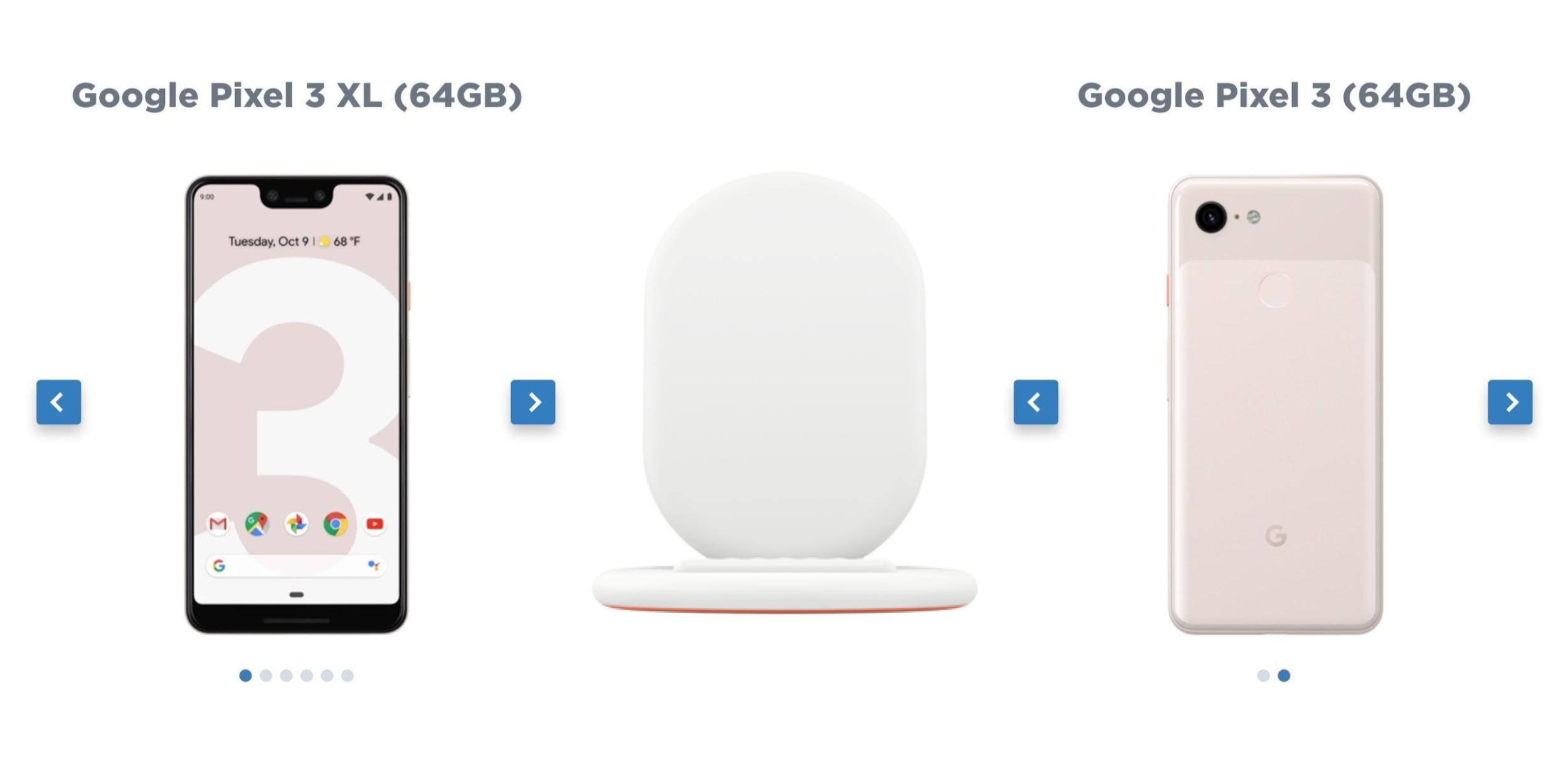 pixel 3 smartphones