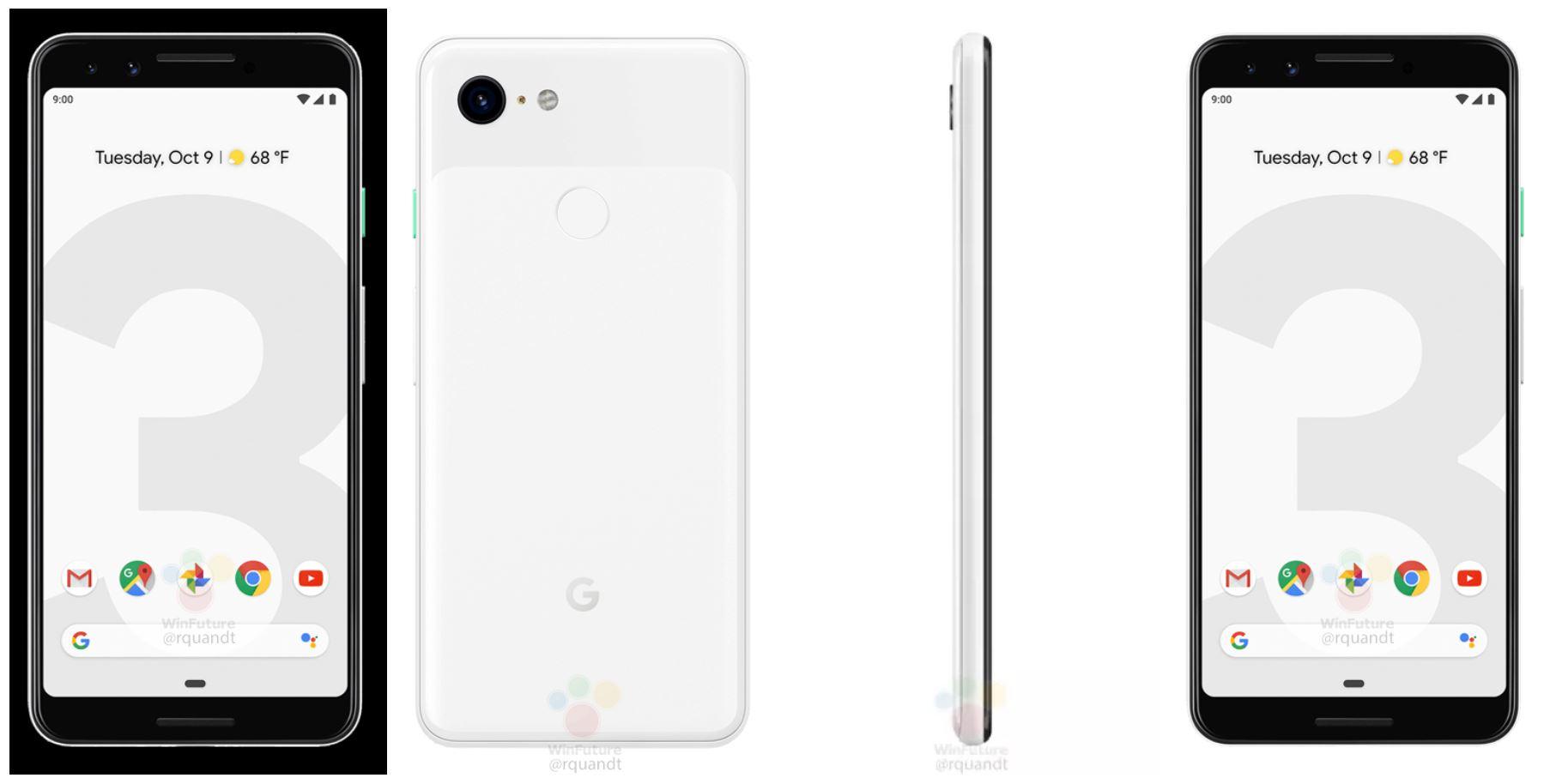 pixel 3 white