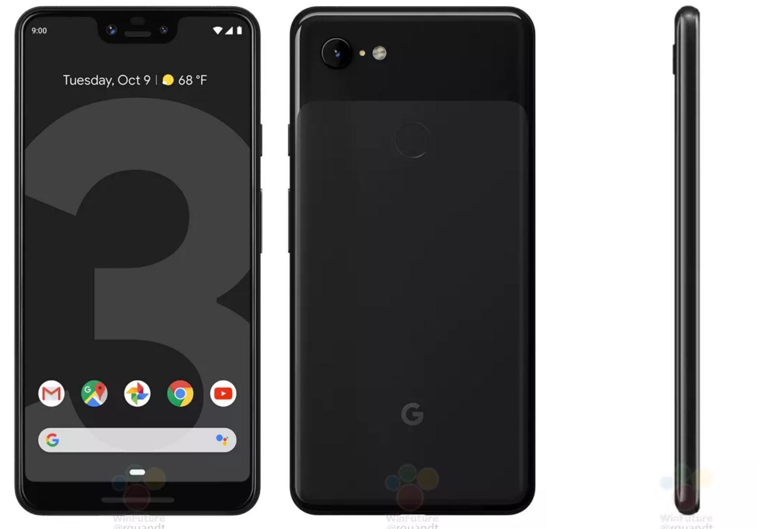 pixel 3 xl black