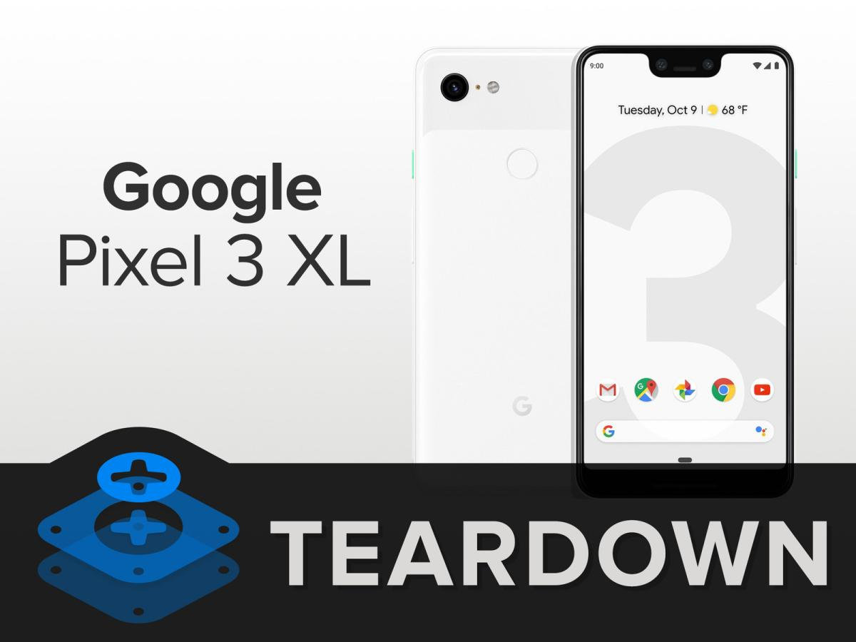 pixel 3 xl teardown teaser