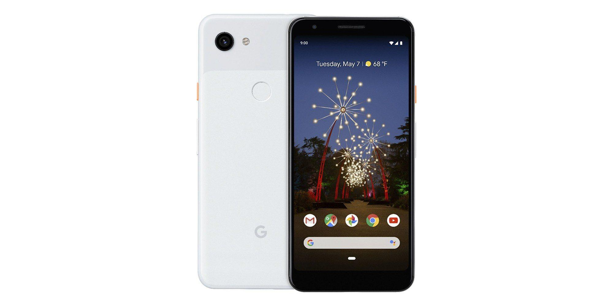 pixel 3a press render