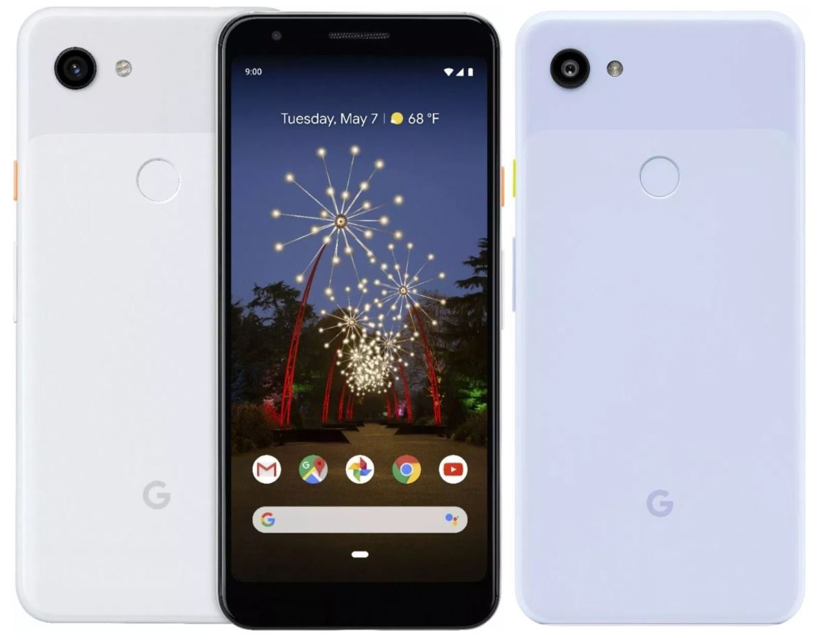 pixel 3a purple leak