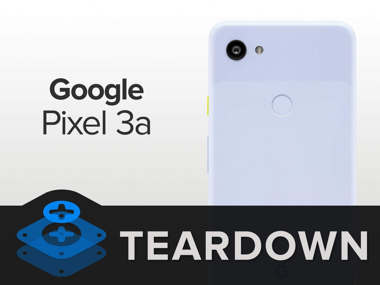 pixel 3a teardown