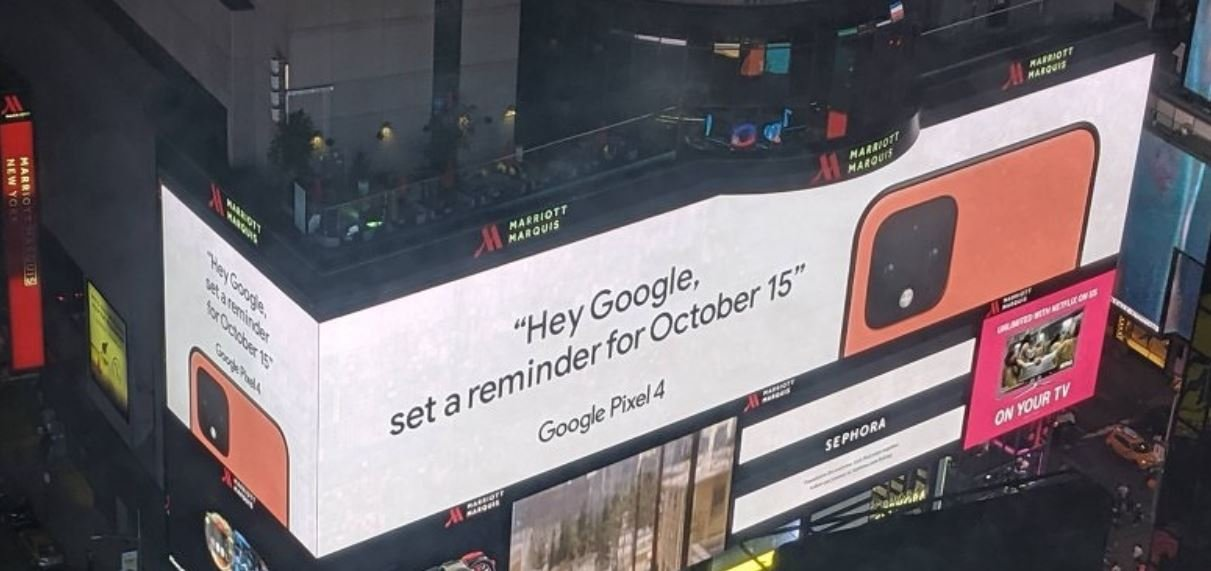 pixel 4 ad times square small