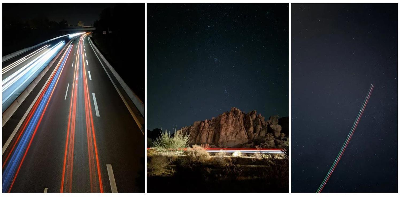 pixel 4 google camera light trails