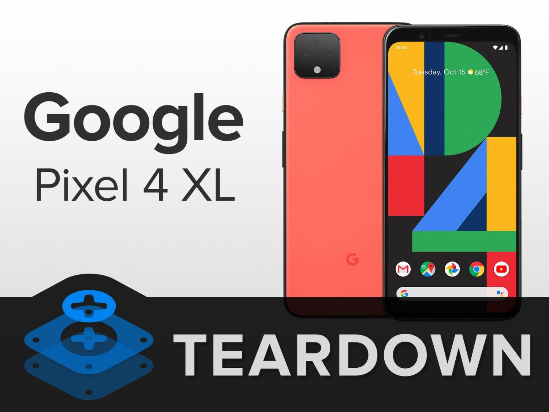 pixel 4 ifixit teardown