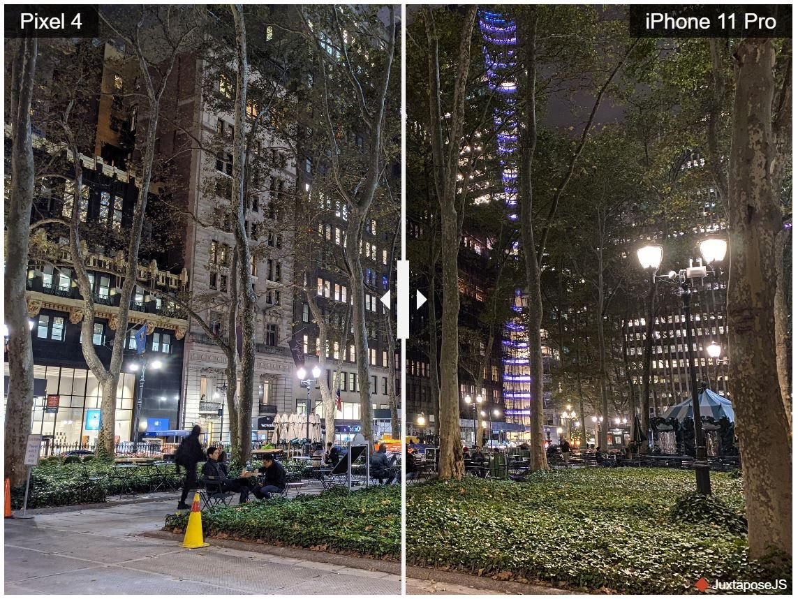 pixel 4 iphone 11 2