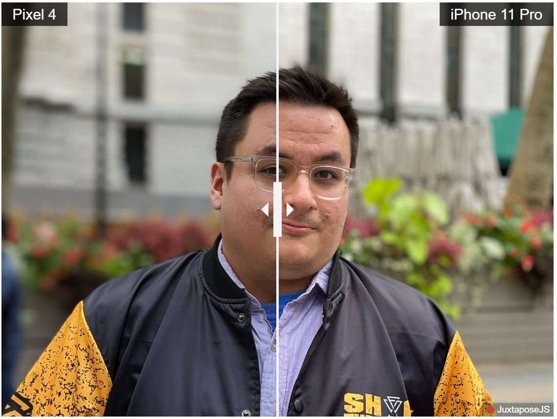 pixel 4 iphone 11 6