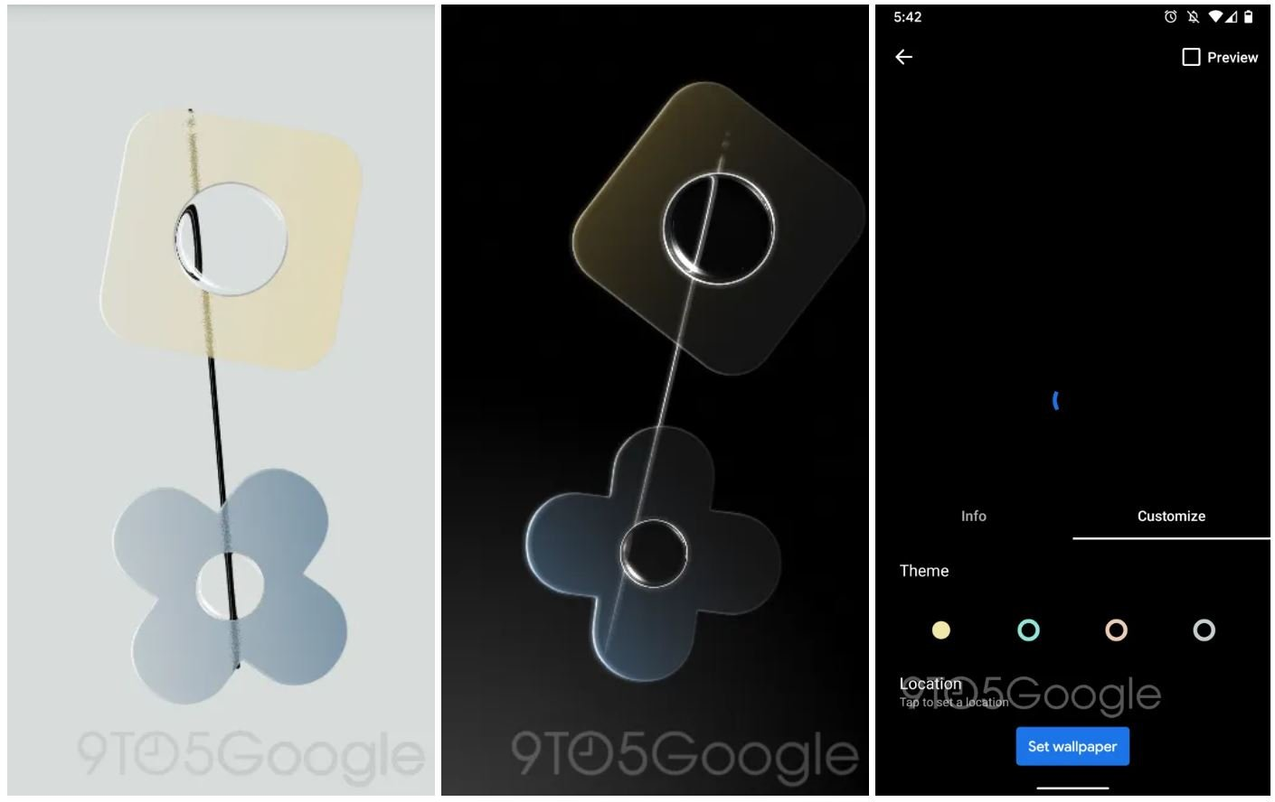 pixel 4 live wallpaper compass