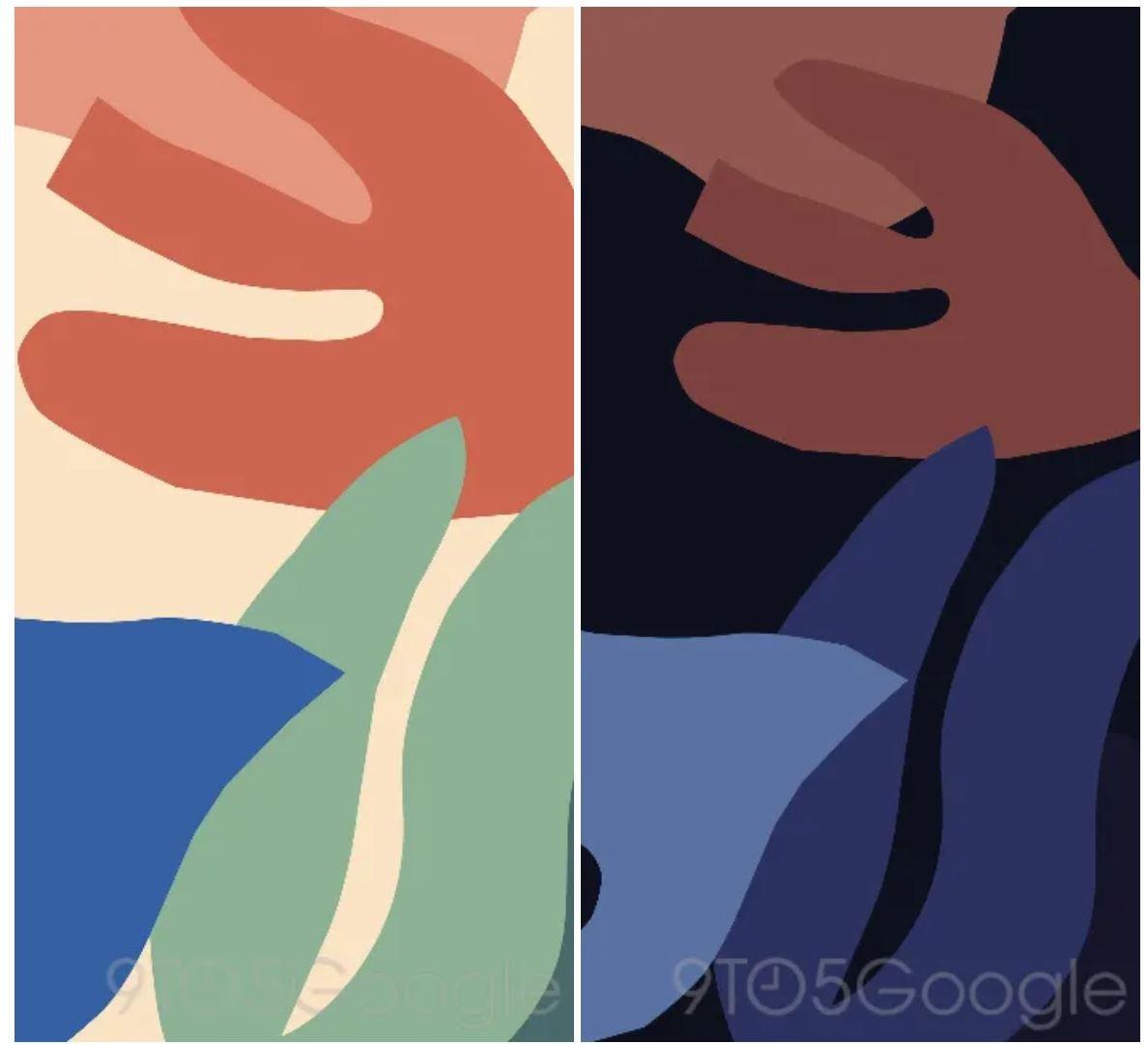 pixel 4 live wallpaper leaves
