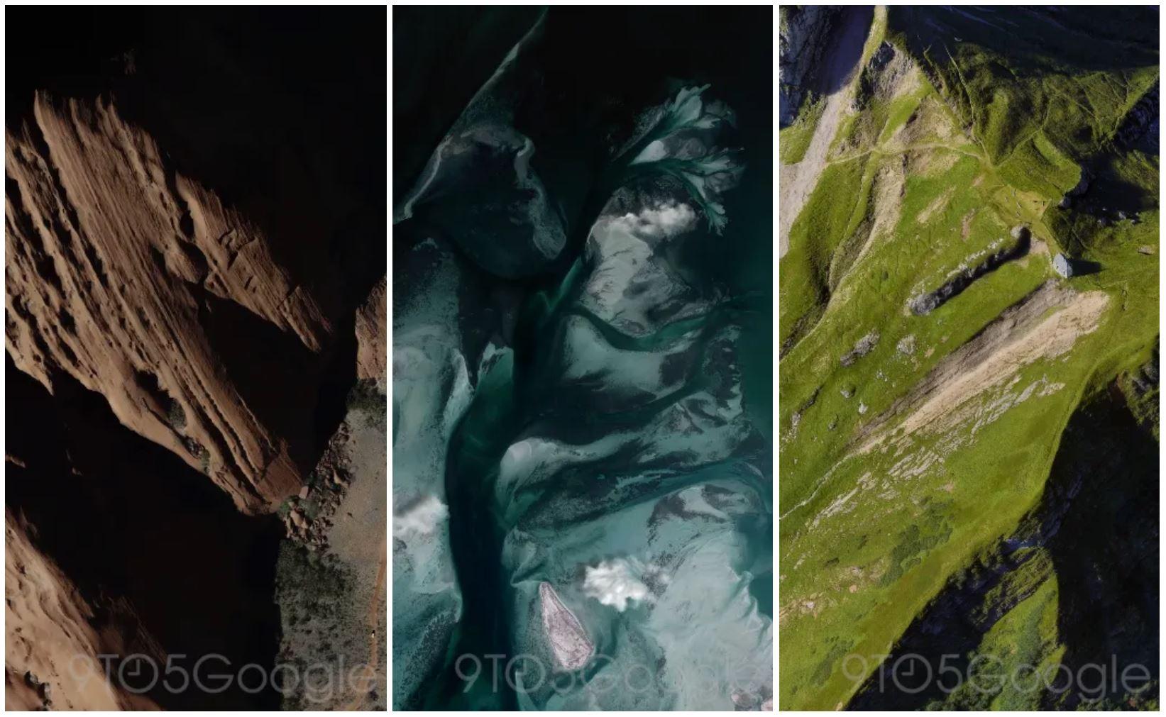 pixel 4 live wallpaper mountains