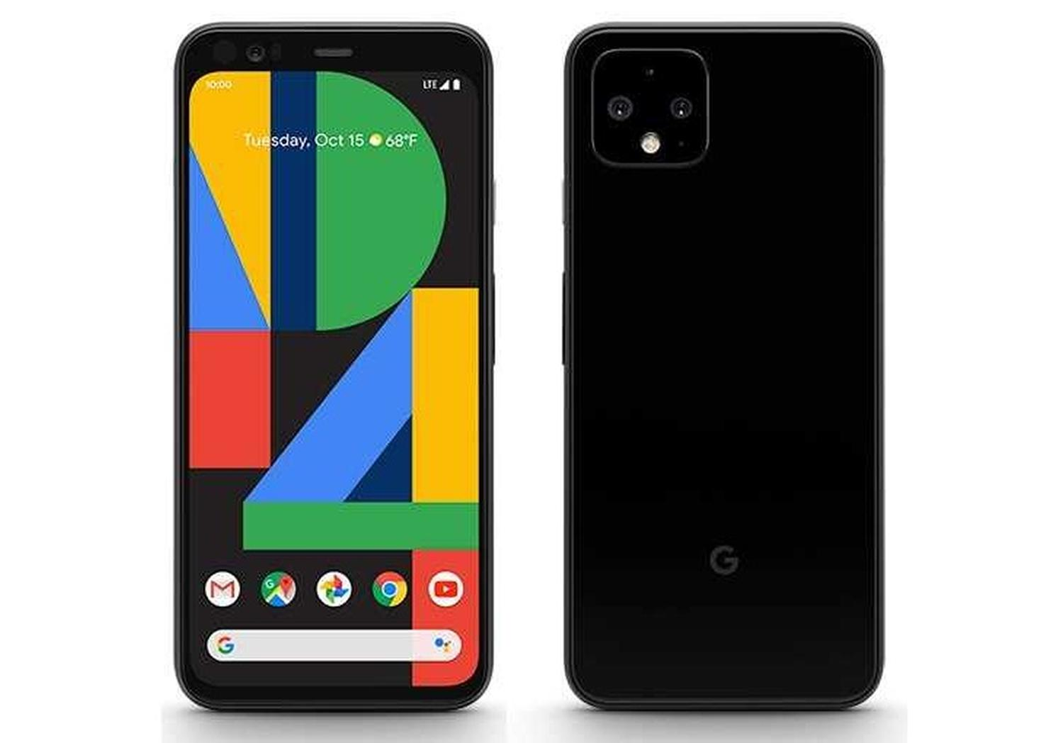 pixel 4 official render
