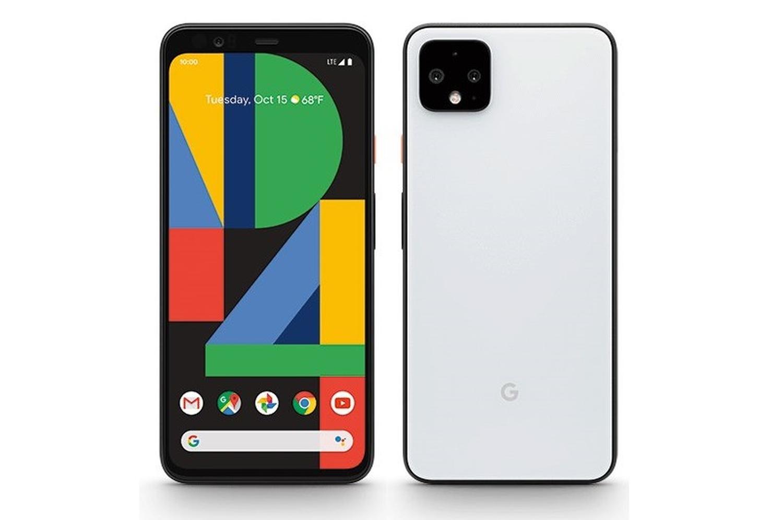 pixel 4 press white