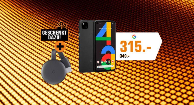 pixel 4a chromecast gratis