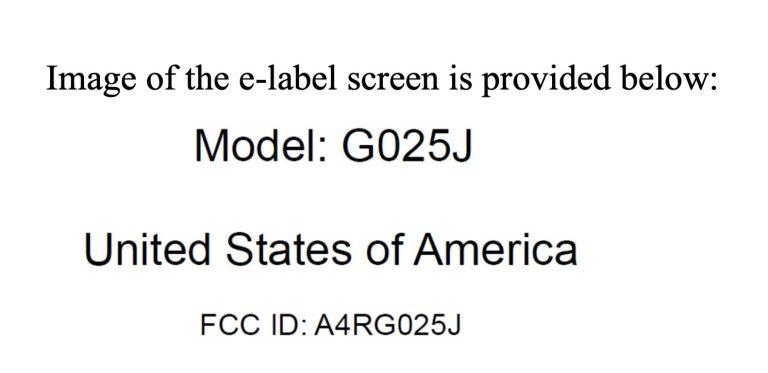 pixel 4a fcc label