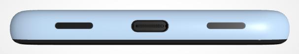 pixel 4a in blau bottom