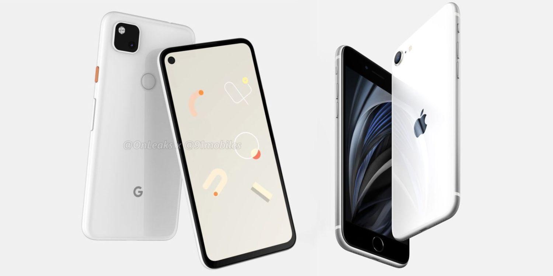 pixel 4a vs iphone se 2020