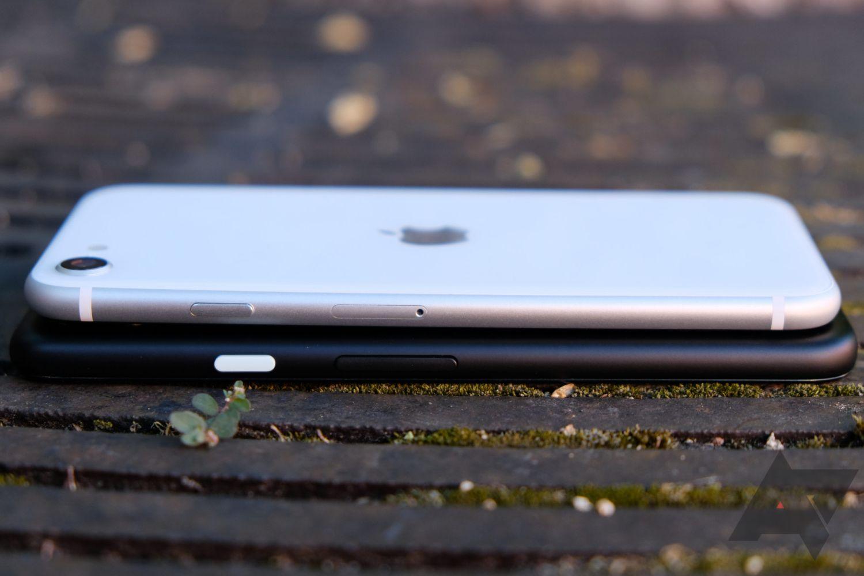 pixel 4a vs iphone se 3