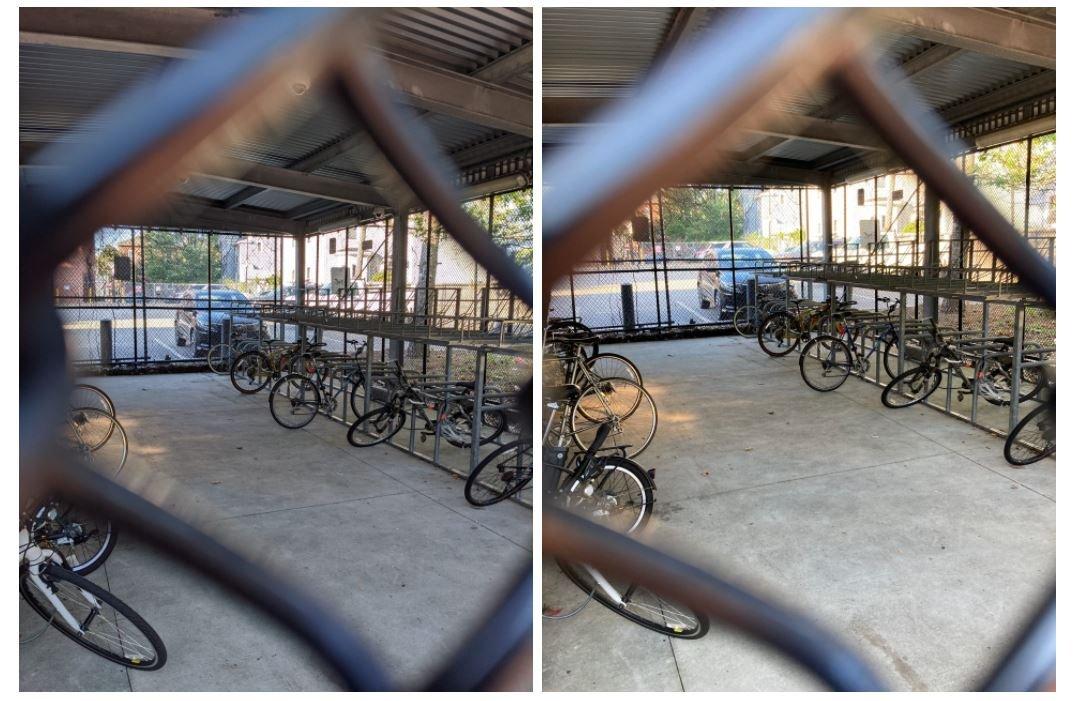 pixel 4a vs iphone se camera