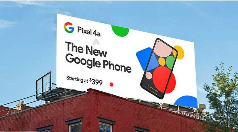 Pixel 4a Werbung