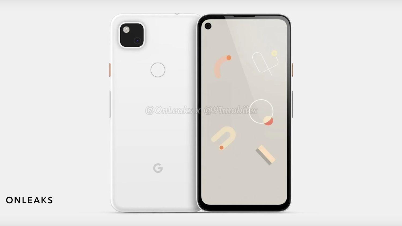 pixel 4a white