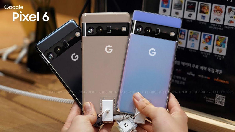 pixel 6 farben