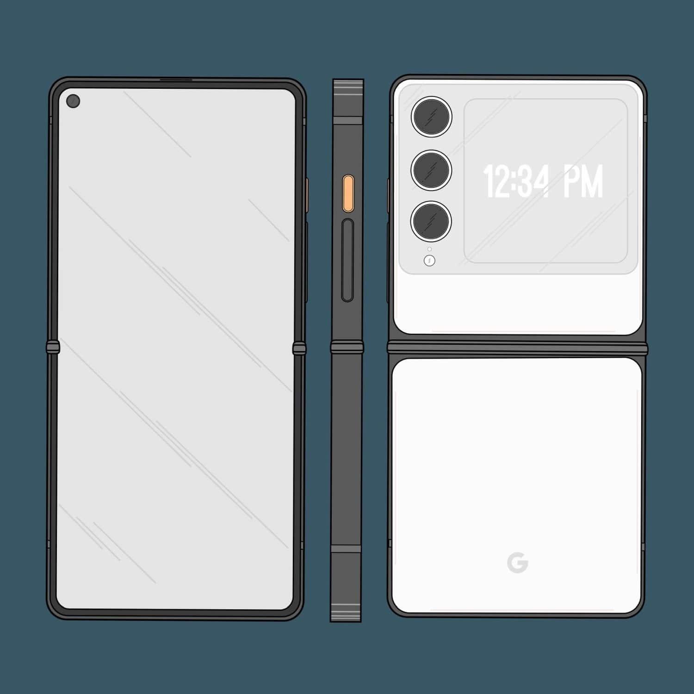 pixel 6 foldable flip