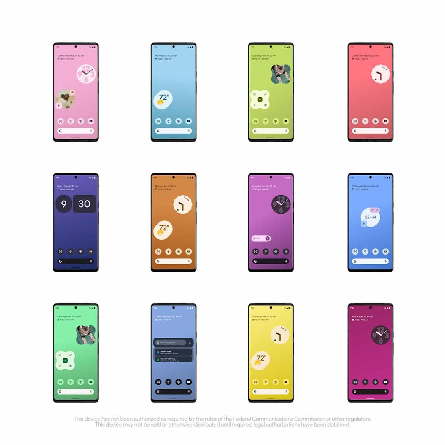pixel 6 werbung android 12 material you
