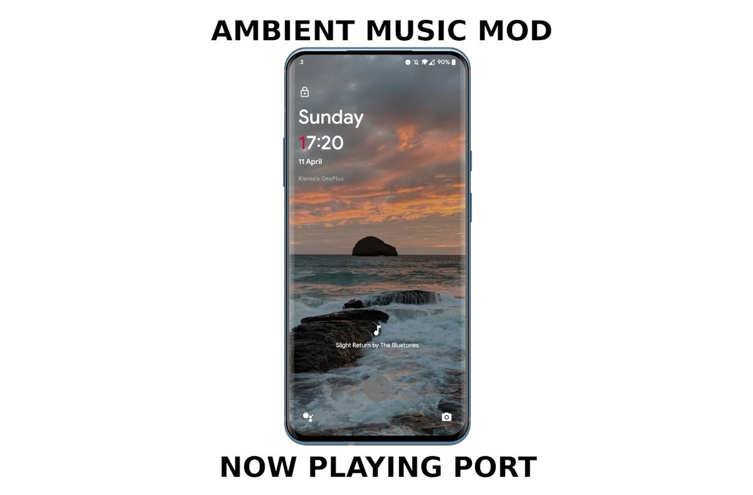 pixel ambient music now playing mod