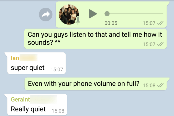 pixel audio message