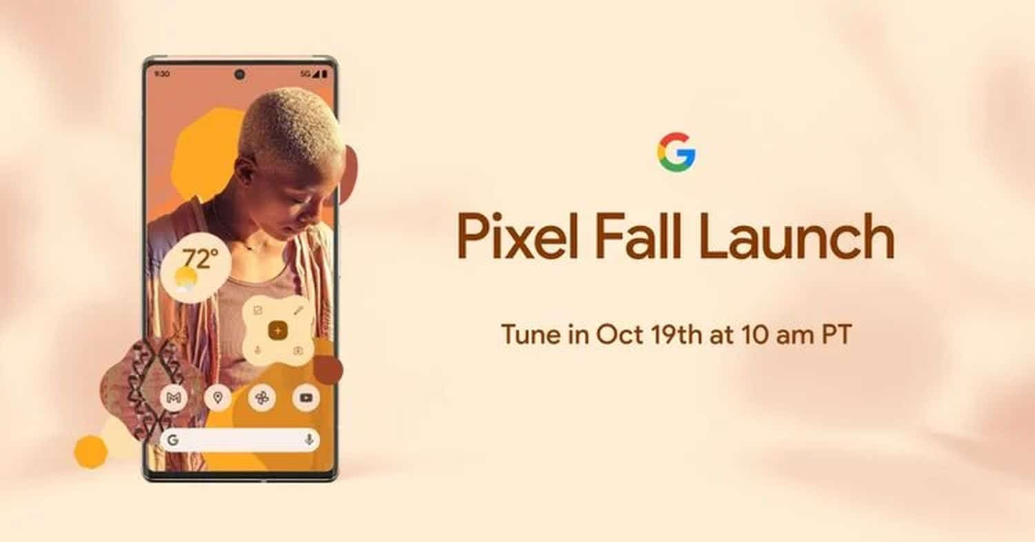 pixel fall launch event