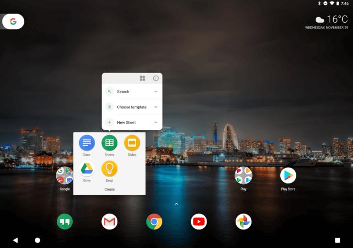 pixel launcher tablet