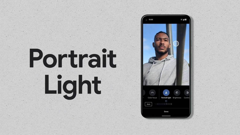 pixel portrait light