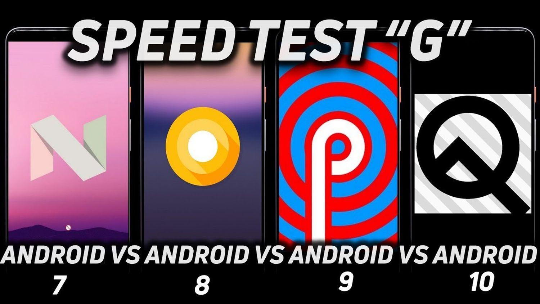 pixel speedtest android versionen