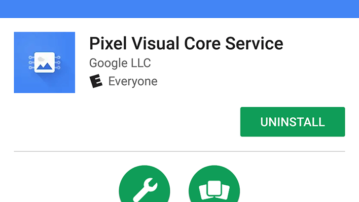 pixel visual core