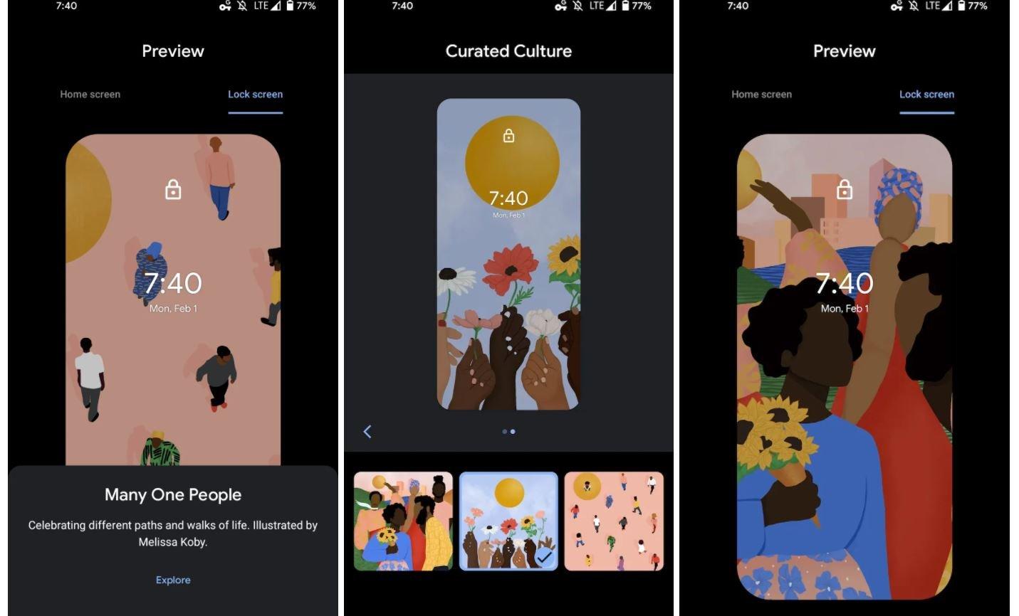 pixel wallpaper curated culture